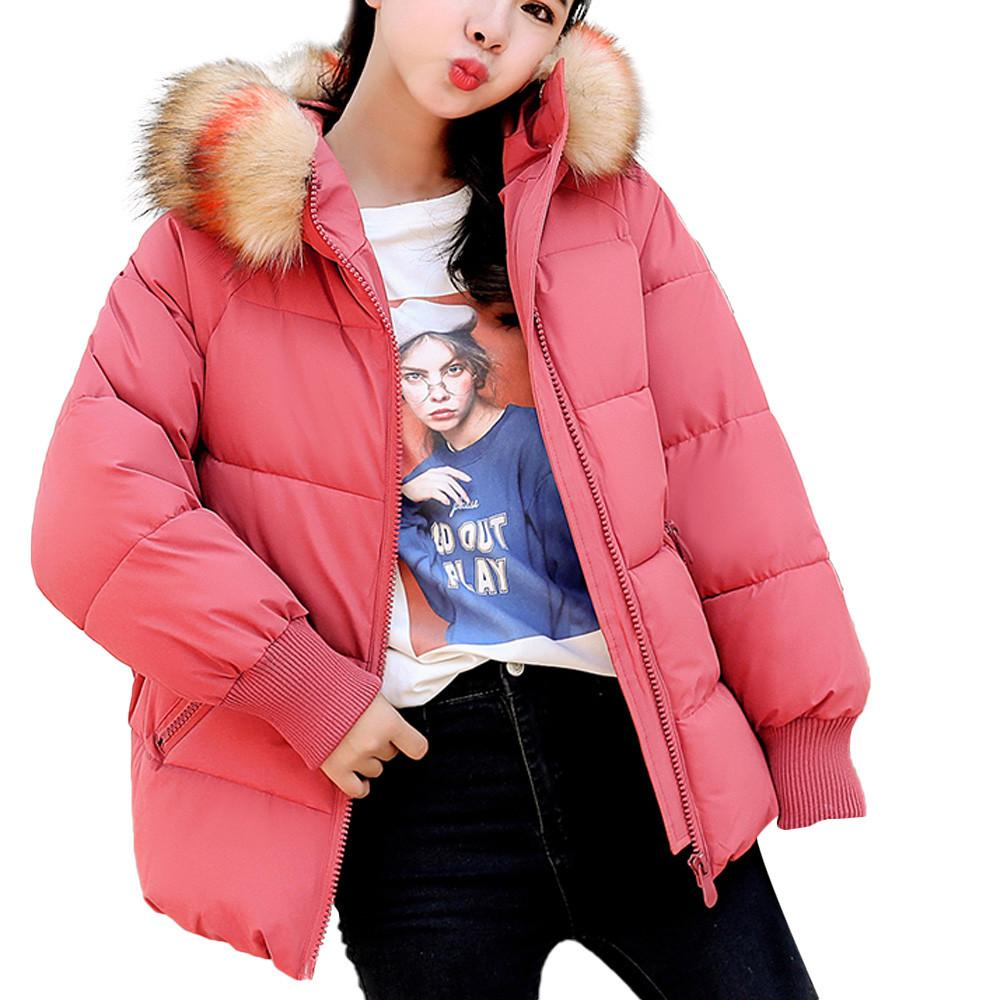 5fc667acb84 2019 Hxroolrp Womens Coat Winter Faux Fur Hooded Thick Warm Slim Jaqueta  Autumn Overcoat Girl Jaquetas Feminino Chaqueta Mujer C3 From Ladylbdcloth,  ...