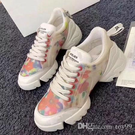 With Box Sneaker Casual shoes Trainers Fashion sports shoes Trainers Best Quality shoes For Woman Free DHL By toy99 D28