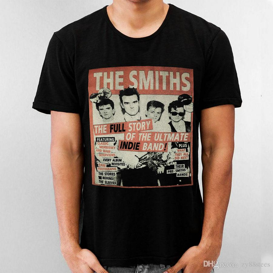 230d7a174 Black Shirt The Smiths This Charming Man Morrissey Johnny Marr Andy Rourke  Mike T Shirt For Men Popular Short Sleeve Thanksgiving Day Custom Awesome  Shirts ...