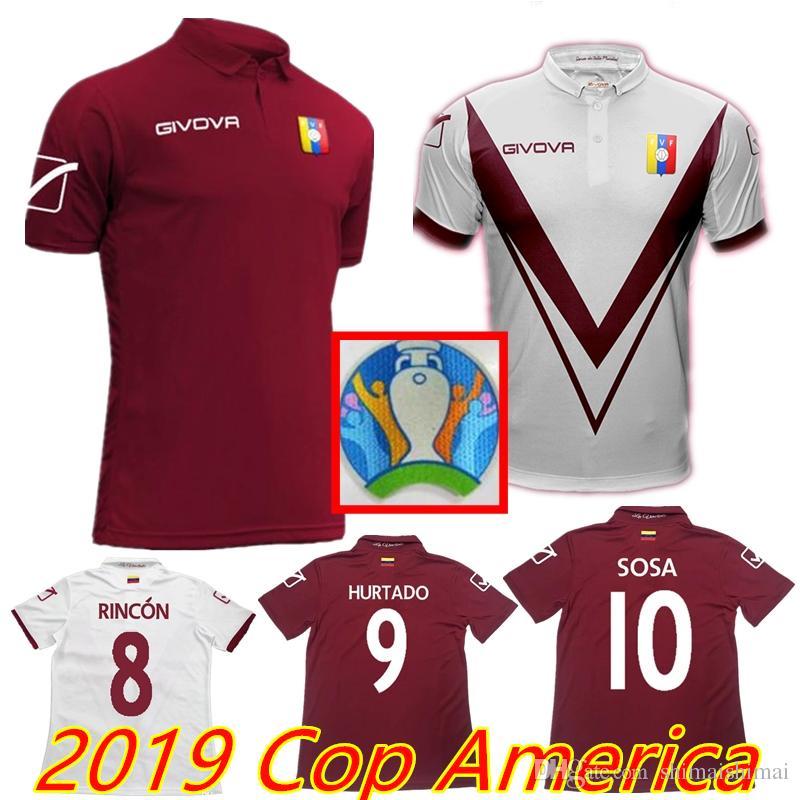 a89bf0239 Acquista Con Patch NOVITÀ 2019 Cop America Thai Maglie Di Calcio ...