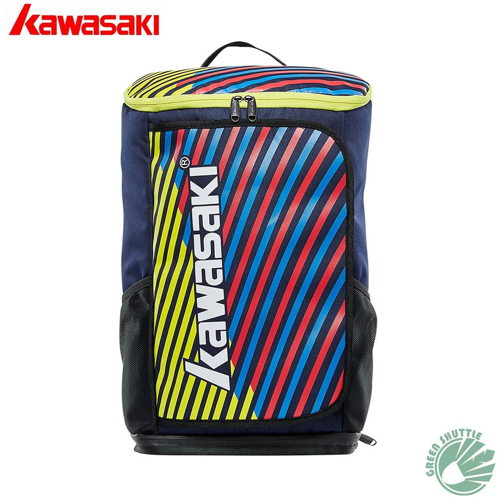 acab53a70 Compre 2018 Kawasaki Para 6 Raquetes KBB 8650 Raquete Saco Para Tênis Único  Saco De Ombro E Badminton KBB 8256 Mochila Raqueta De Raisins
