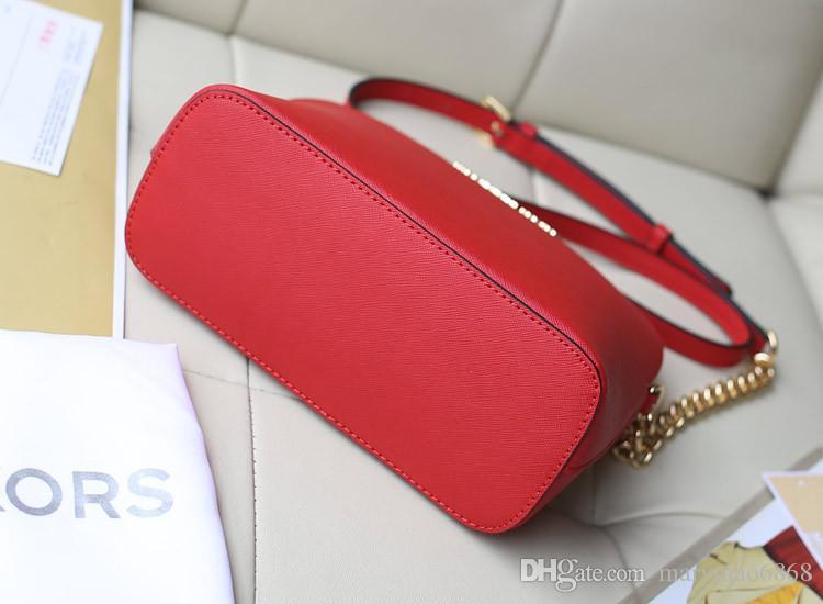 Venta caliente de la exportación Nuevo estilo Bolso de mujer Patrón cruzado Cuero sintético Concha Cadena Bolsa Hombro Messenger Bag Pequeña bolsa envío gratis