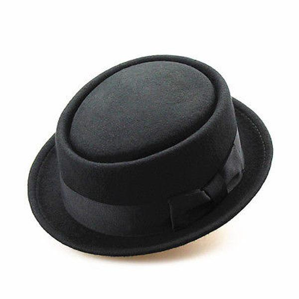 2dcfc9c0ca7 Details Unisex Women Men Sun Hat Fedora Felt Pork Pie Crushable Hat ...