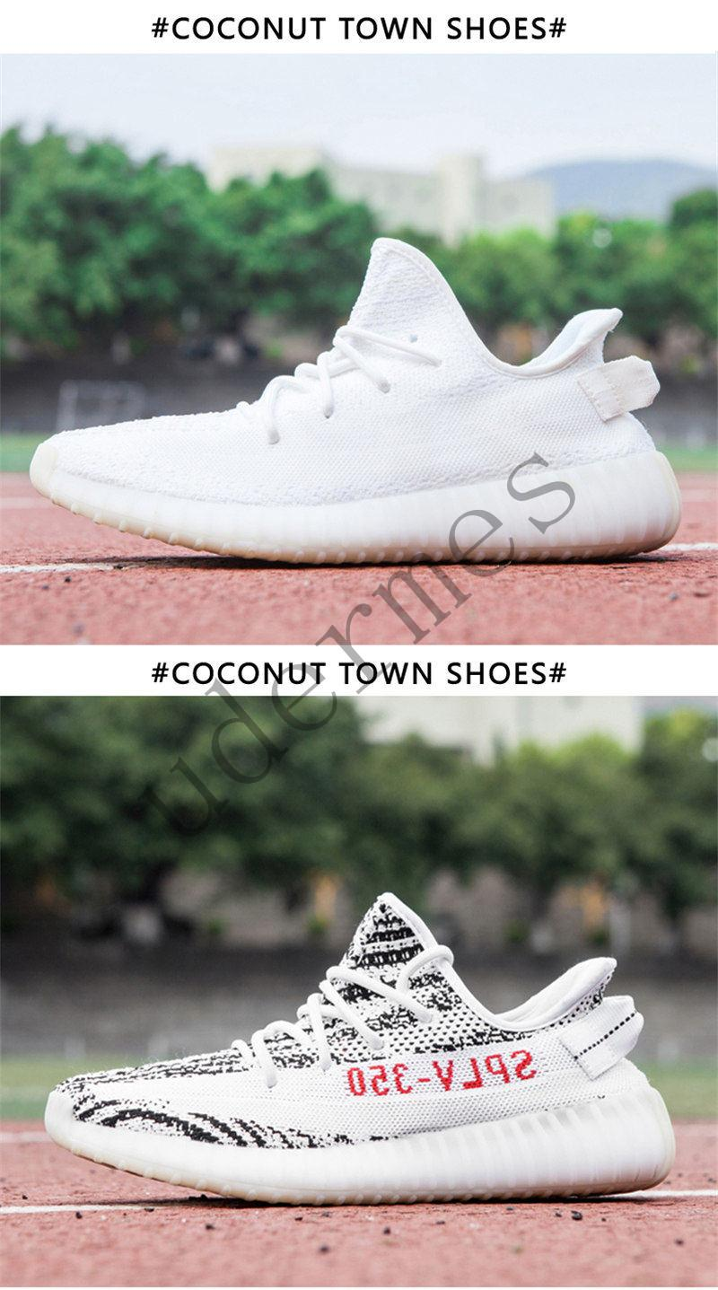 dfc3e8e4175cb New Kanye West Sply FUNWU Boost 350 V2 Female Models White Sesame ...