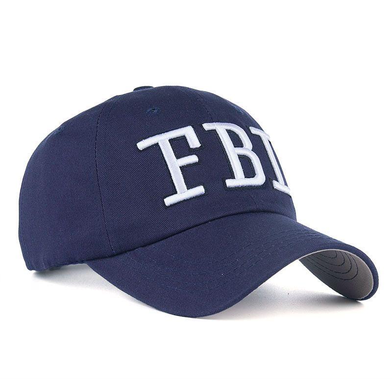 dd65f21fb1f32 FBI Caps Outdoor 5 Panel Baseball Cap Brand Snapback Hat Bone FBI ...