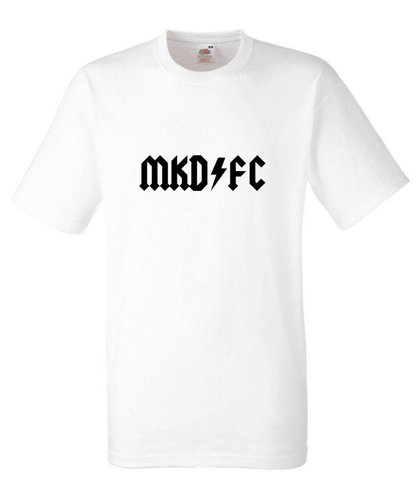 48b86482 ACDC Football MK Dons Black Design Men's White ALICE IN CHAINS