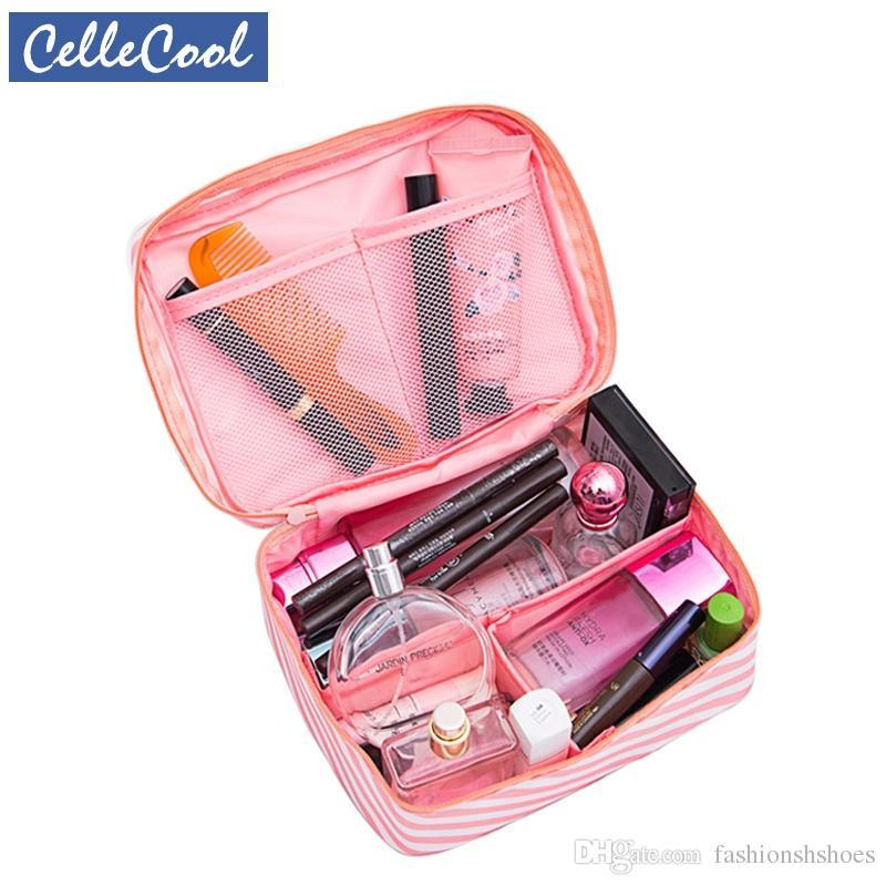 ea3ccbdd86d5 New Cosmetic Bag Women Hot Sale Multifunction Makeup Bags Travel Toiletries  Organizer Waterproof Female Storage Make Up Cases #279651 Cheap Handbags ...