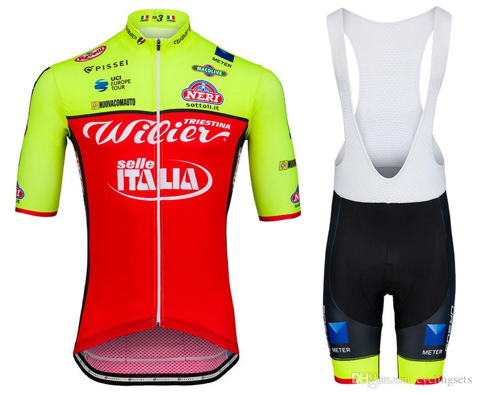 2018 Wilier Cycling Jerseys Sets Mountain Bicycle Clothing MTB Maillot  Ciclismo Ropa Ciclismo Racing Bike Clothes Sportswear Cycling Jersey Online  with ... 07e3a1ce6