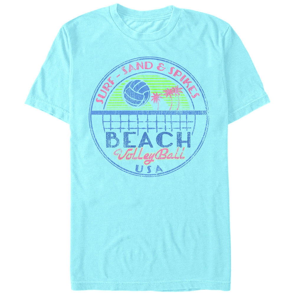 543bdc8cd9 Lost Gods Beach Volleyball USA Mens Graphic T Shirt Funny free shipping  Unisex Casual tee gift