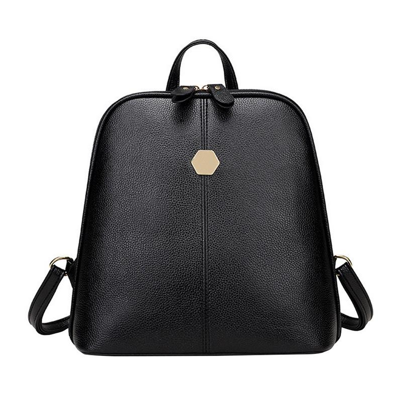 2018 Wobag Classic Leather Mini Backpack Women Anti Theft Backpack Shoulder  Soft Leather Rivets Backpacks Simple Backpacks Travel Backpack Cute  Backpacks ... 6a3d647142e86