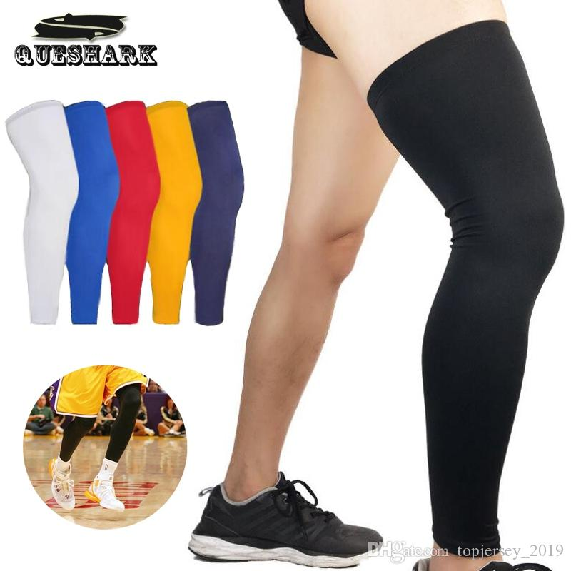 2a4758f49b 2019 Cycling Leg Warmer Basketball Leg Sleeve Compression Running Socks  Calf Support Brace Protector Knee Pad Football Shin Guard #232311 From ...