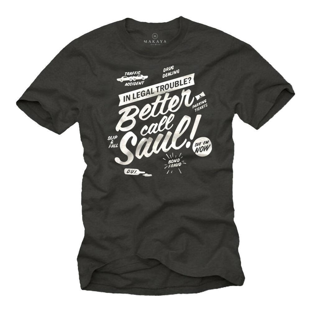 Camiseta Cooles Bad Better Mit Call Breaking Saul - Camisa Manner Nerd Heisenberg