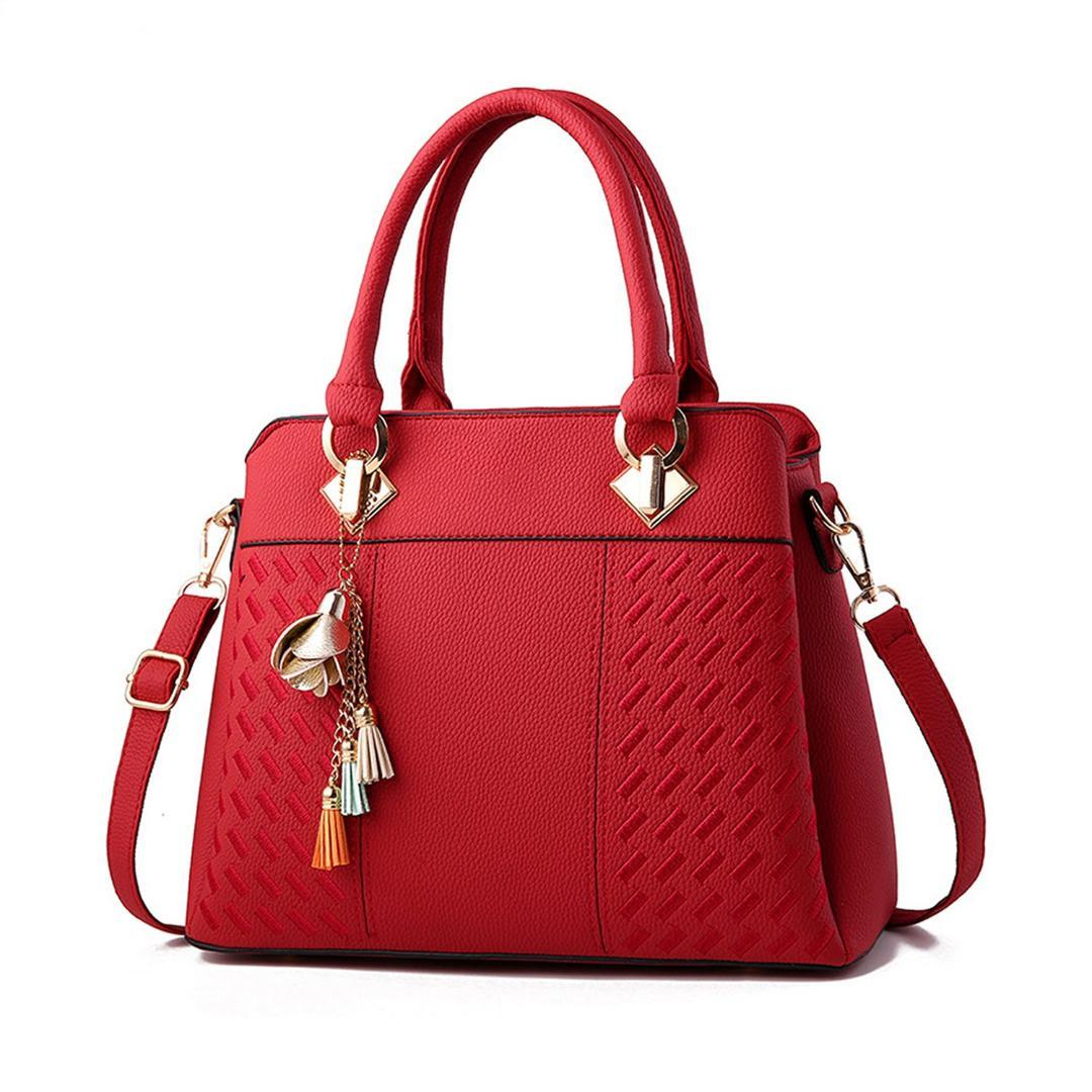 AUAU Womens Handbags And Purses Fashion Top Handle Satchel Tote Pu Leather  Shoulder Bags Handbags On Sale Leather Bags From Lookchill,  28.85   DHgate.Com 1f5904375b
