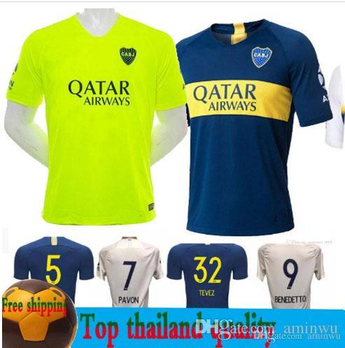 Compre 2018 19 Boca Juniors Jersey Casa Fora Verde 18 19 Boca Juniors  Camisas De Futebol OSVALDO CARLITOS PEREZ P GAGO Futebol Camisa S XXL De  Aminwu 5fe0539ed792a