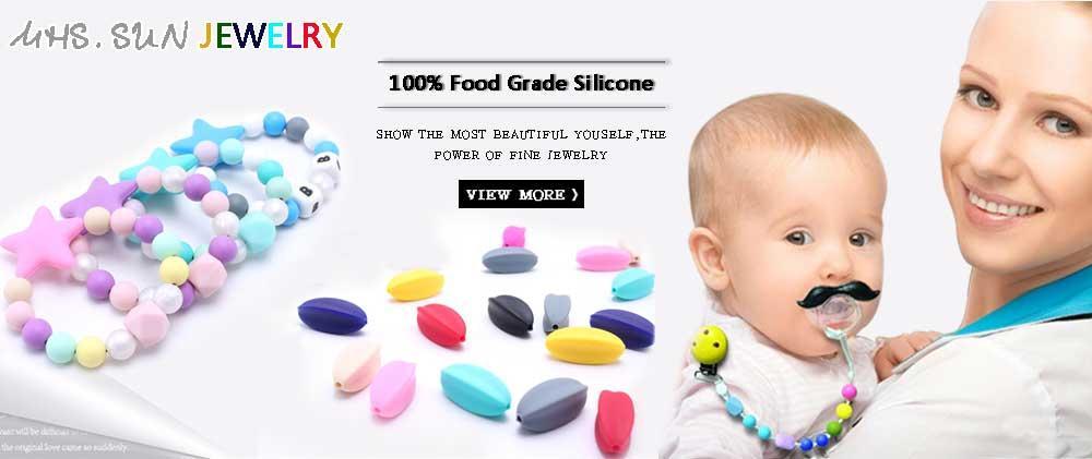MHS.SUN El más nuevo bebé de la manera collar moldeado abalorios niñas chicle joyería gargantilla collar / hecho a mano regalo del juguete del muchacho