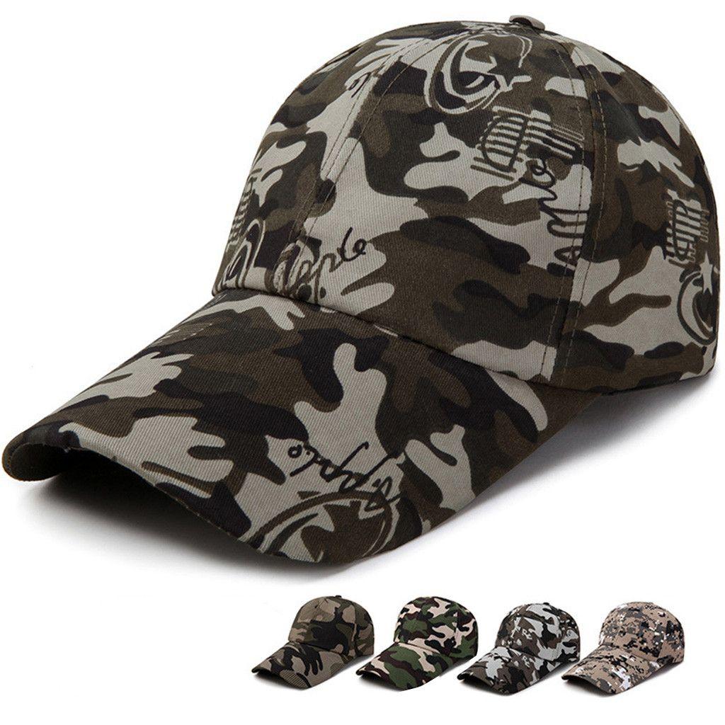 59e4005ab MUQGEW New Arrival Baseball Cap Men Classic Plain Adjustable Baseball Caps  Work Casual Sports Leisure Camouflage Gorra Beisbol Hats For Sale Neweracap  From ...