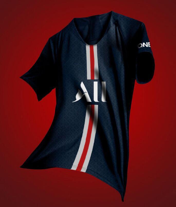 d4916c15152 2019 2020 new psg jersey 19 20 Paris home blue ALL soccer jerseys CAVANI football  jerseys VERRATTI MBAPPE maillot de foot Running Jerseys