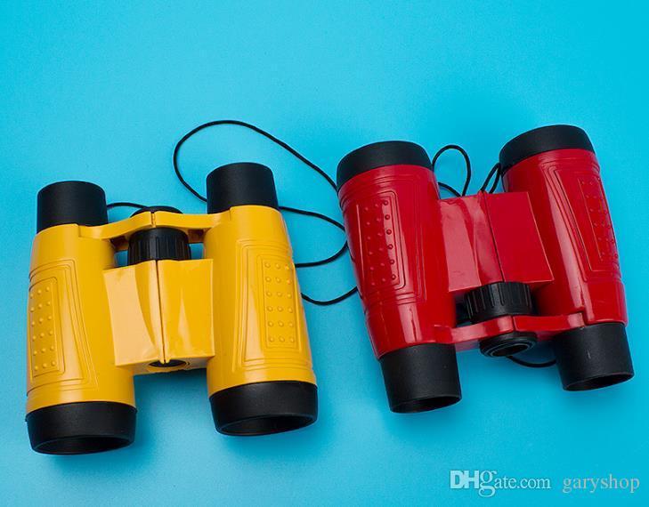Großhandel cartoon fernglas tragbare teleskop kinder mini