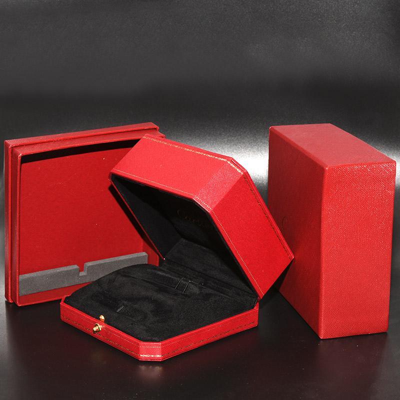 e4bab1938dc0 Compre Peso 0.4 KG Cajas De Pulseras Rojas De Calidad Superior Lujoso Joyas  De Embalaje Cajas Mujeres Hombres Pulsera De Uñas Brazalete Caja Original A  ...