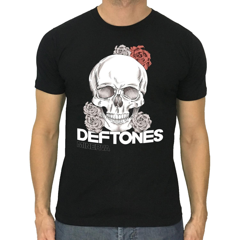 8f5bb3b87f929 DEFTONES T Shirt Minerva Skull New Men Black Or Dark Grey S To 3XL T Shirts  Shopping Online T Shirts Sites From Kindness068, $11.63| DHgate.Com