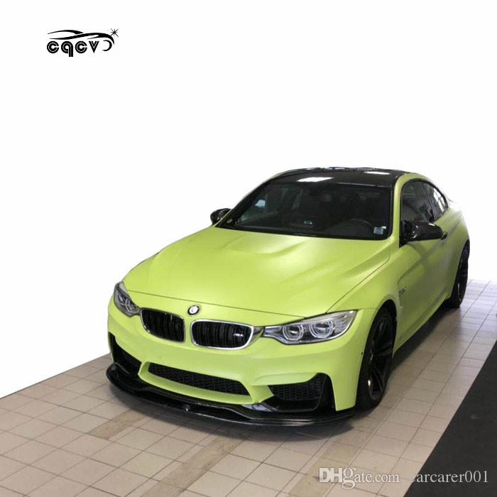 Perfect Fitment And Beautiful Carbon Fiber Body Kit For Bmw M4 In Psm Style Front Lip Rear Lip Gts Wing Spoiler Side Skirts