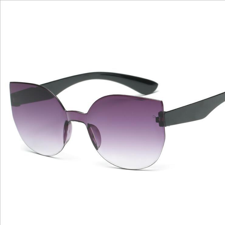 d0b14b44977 2019 One Piece Cat Eye Sunglasses Women Candy Colors Gradient Lens Travel Vintage  Sun Glasses UV400 Oculos De Sol Cheap Eyeglasses Online Sunglasses At ...