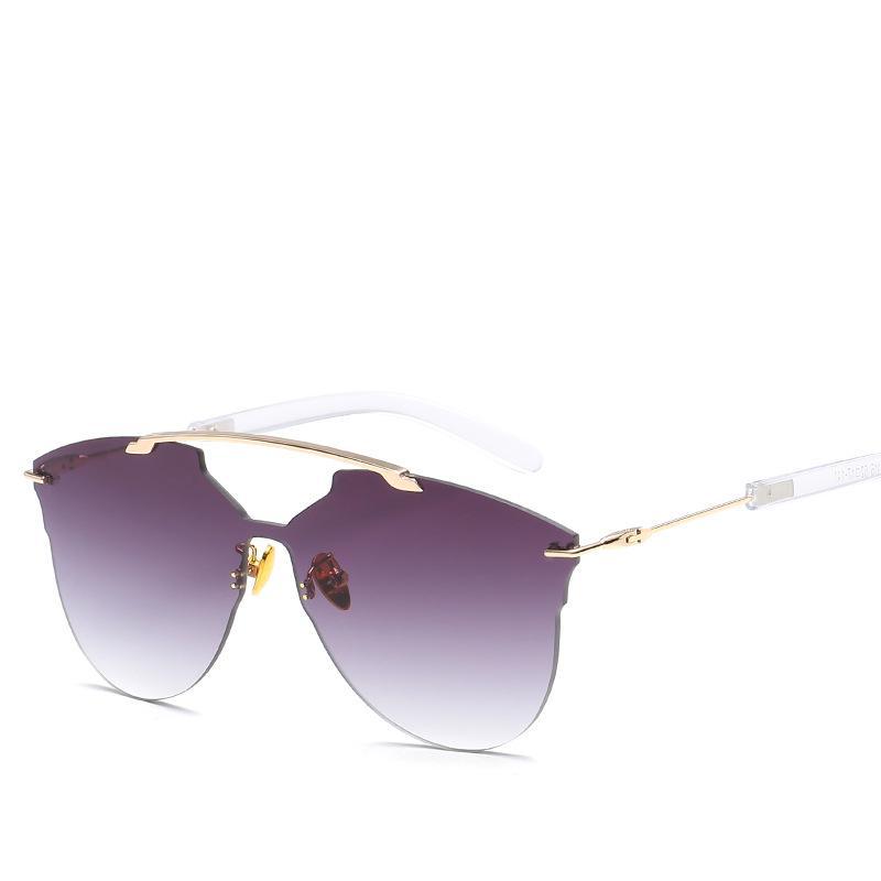 ef32b708373 2019 Fashion Brand Sunglasses UV Protection Popular Rimless Glasses Retro  Luxury Eyewear Good Quality Men Women Outdoor Sport Sunglasses Sunglasses  Brands ...