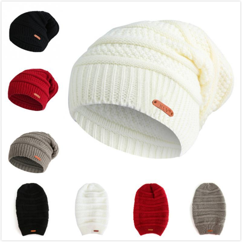 813da241ec768 Dotted Stripes Short Beanie Skull Cap Solid Color Men Women Winter Ski Hat  Herren-Accessoires