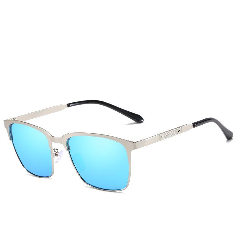 d35cbb8d2 2019 New Brand Designer Vintage Square Sunglasses For Men Women Metal Frame  Mirror Polaroid Lenses Fashion Sunglass Heart Sunglasses Circle Sunglasses  From ...