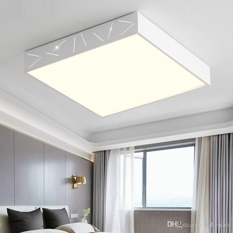 Modern minimalist living room led ceiling lamp atmosphere warm romantic  master bedroom lamp restaurant study household lamps - I123