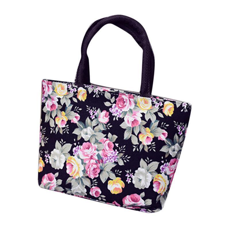 200d1dbc153cc Cheap Summer Canvas Bag Women Beach Bag Printing Lady Girl Handbags  Shoulder Tote Casual Bolsa Shopping Bags Sac A Main Female Wholesale Purses  White ...