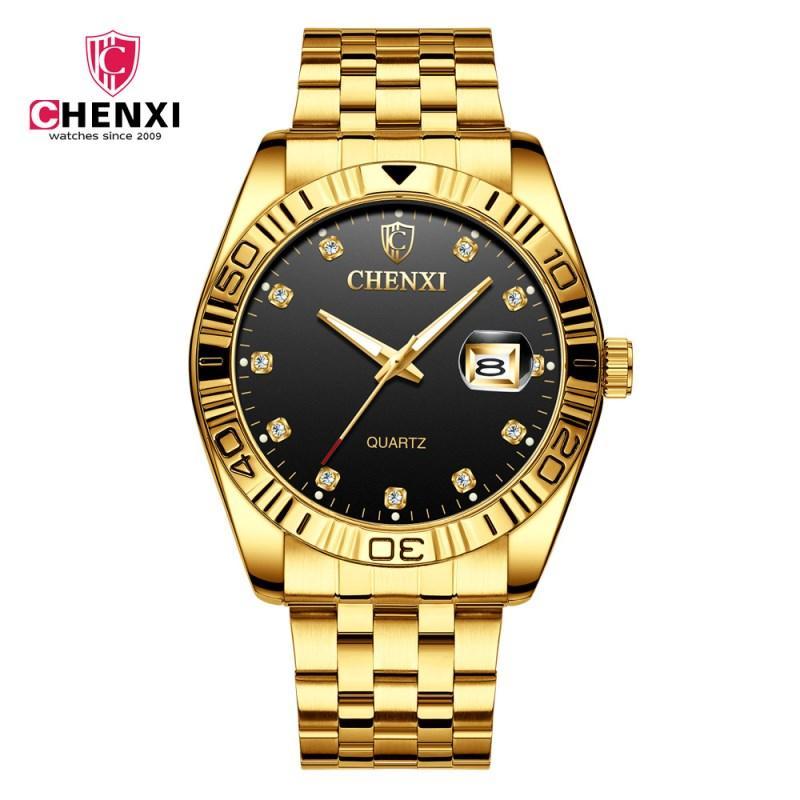 9202f205b67b Compre Nuevos Relojes CHENXI De Cuarzo Para Hombre De Primeras Marcas  Analógicos De Lujo Para Hombre Reloj De Hombre De Negocios Reloj De Pulsera  ...