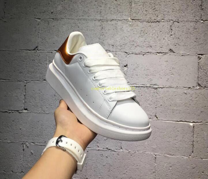 aa160a35 ... Suela Para Mujer Zapatos Plataforma De Lujo Zapatilla De Deporte  Zapatos Planos Casuales Dama Negro Rosa Oro Zapatillas De Deporte Tenis  Comfort 35 40 ...