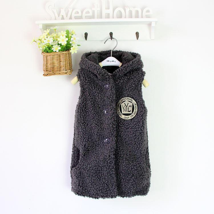 fcbb5f72c873 Good Quality Girls Waistcoats Winter Warm Fashion Cotton Long Style ...