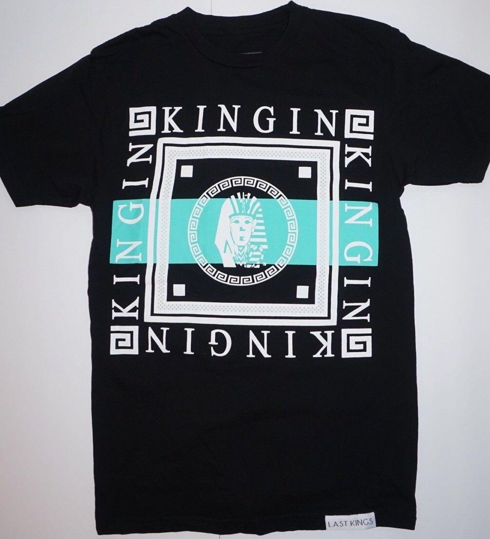 The Last Kings Kingin Pharaoh T Shirt By Tyga Hip Hopmen Women