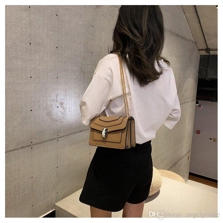 Brand Designer HanDbags Women LUXURY Shoulder Bag chain Little bread Bags Fashion Messenger Bag Leather pochette hobo Saddle bag