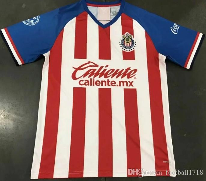 pretty nice 4e8da 365e6 110th retro 2019 2020 Mexico club chivas Guadalajara soccer jerseys home  away 19 20 A.SEPULVEDA O.PINEDA A.PULIDO football shirts