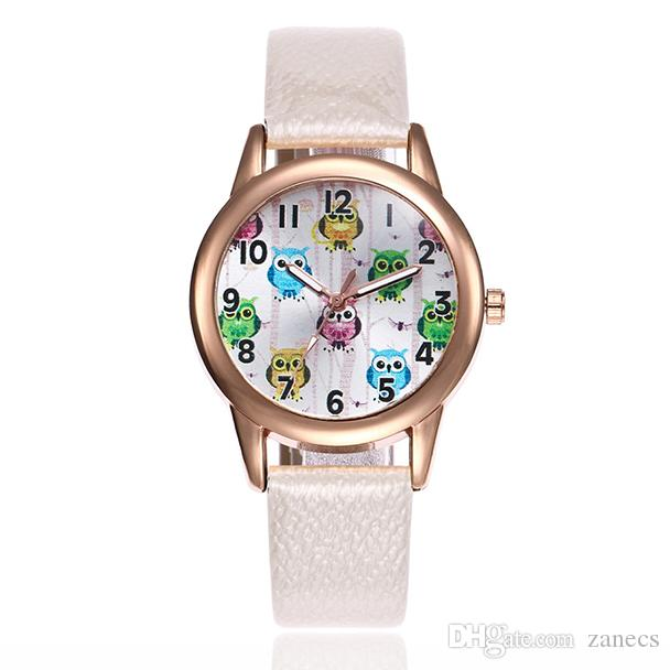 95d3f30b2f0 Womens Watches Ladies New Fashion Casual Leather Band Analog Quartz Round  Wrist Watch Female Clock Montre Femme Relogio Feminino Men Watch  Wristwatches ...