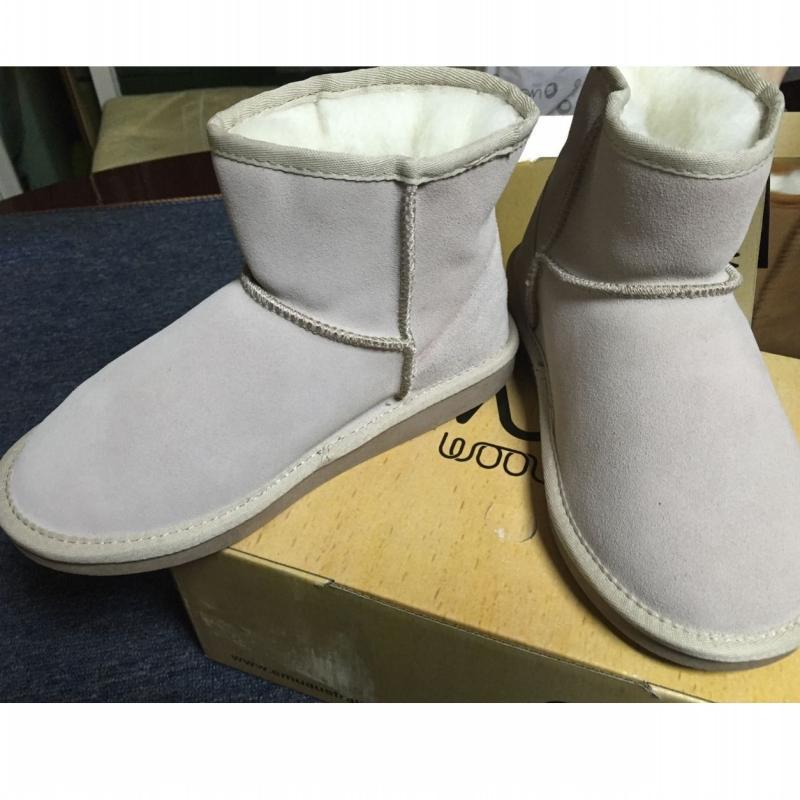 5227a32bb24 NEW EMYEMU Bronte MiniW20003 Cow-Suede Genuine with 100% Wool Inner ...
