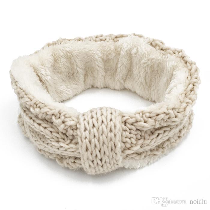Großhandel Winter Warme Dicke Warme Wolle Stirnband Für Frauen