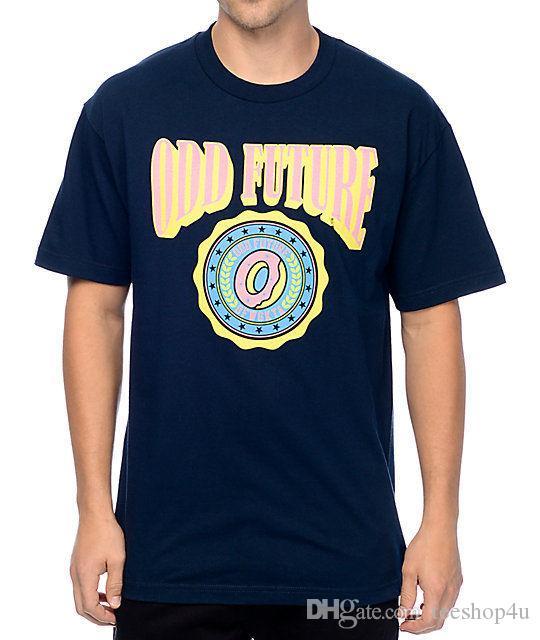 db1baee2df7 Odd Future Ofwgkta Circle Donut Logo T Shirt Navy Nwt 100% Authentic T Shirt  For Men 2017 Custom Short Sleeve XXXL Men S Tee Shirts Awesome Shirts For  Men ...