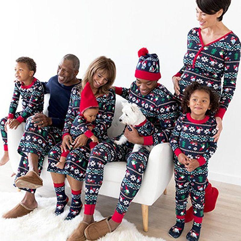 fd26a7f21 Compre Amazon EBay Hot Sale 2018 Natal Novo Pai Filho Terno Casa Pijama  Venda Especial Para Manter O Dia Grande Meninos Crianças Escolhidos De  Sinochensi