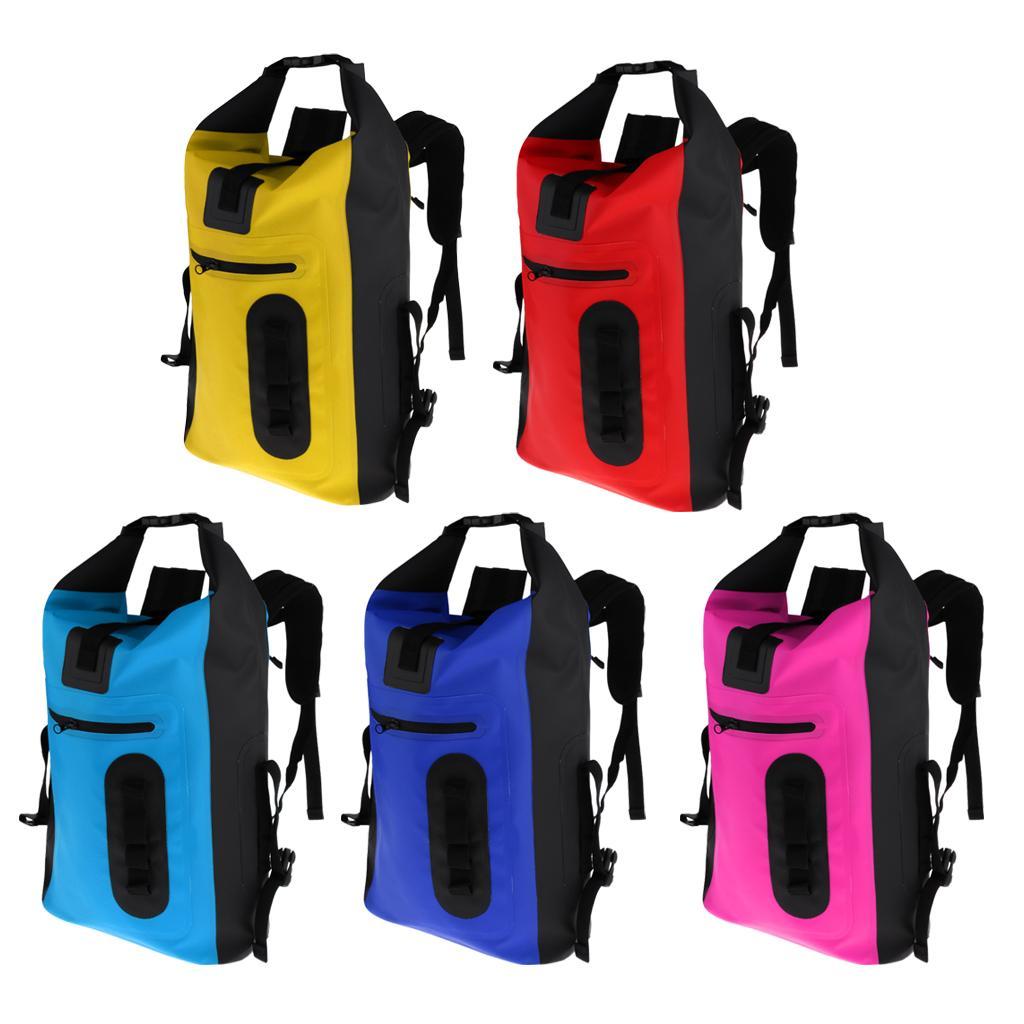 26a2ceb5b5 2019 Waterproof Backpack 30L Floating Dry Gear Bag   Padded Shoulder Strap
