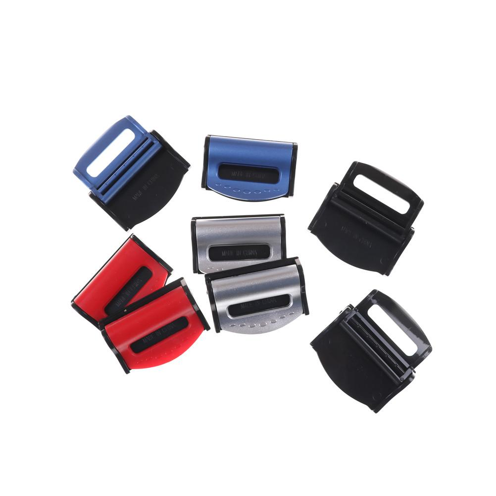 Belts & Padding 2pcs 4Colors Universal Car Seat Belts Clips Safety  Adjustable Auto Seat Belt Stopper/ Buckle Plastic Clip