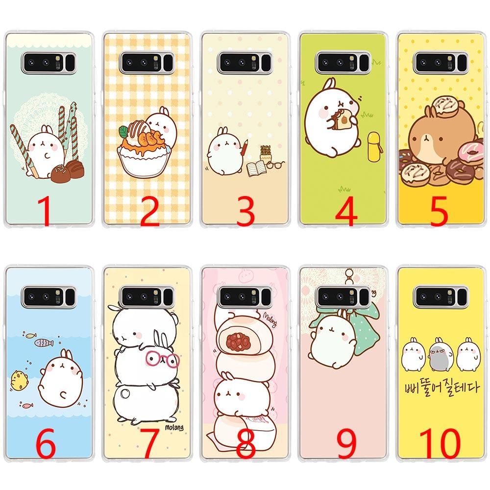 newest d8c2c df6d2 Cute Kawaii Box Potatoes and rabbits Soft Silicone Phone Case for Samsung  Note 9 8 S7 Edge S8 S9 Plus Cover