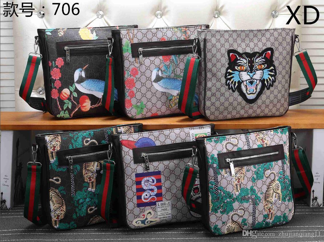 cdee5ddffa5 GUCCI 2019 Women Bag New Handbag Canvas Bag Shoulder Messenger Bag ...