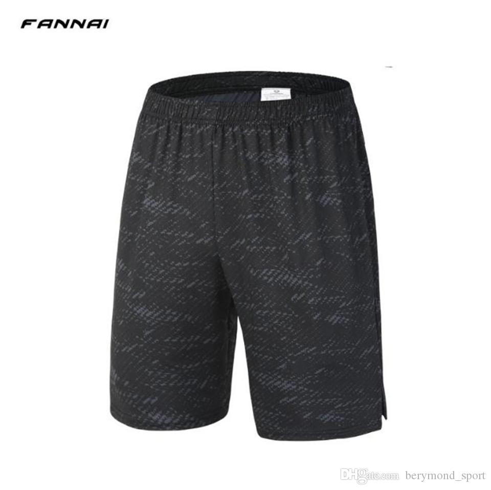 8d8275cd8 Gym Clothes Sports shorts Men's Outdoor casual sports pants elastic  breathable quick dry shorts fitness 1/2pants running five-point Trousers