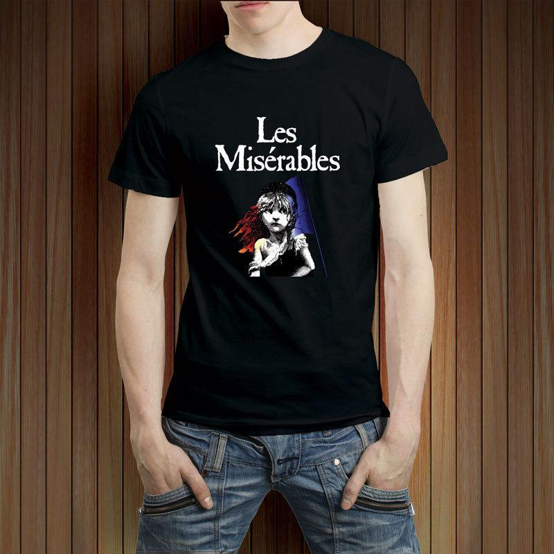 Broadway Show Musical Miserables Camiseta Les Para Hombre tsCQhrd