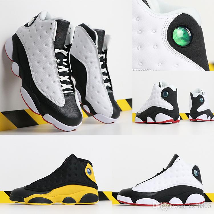 cb7b6ae0cb0fb1 He Got Game 13s Basketball Shoes For Children Sports Shoes Chicago White  Red Luxury Athletic RETRO GP Sneakers Kids Designer Shoes EUR 28 35 Sneakers  On ...