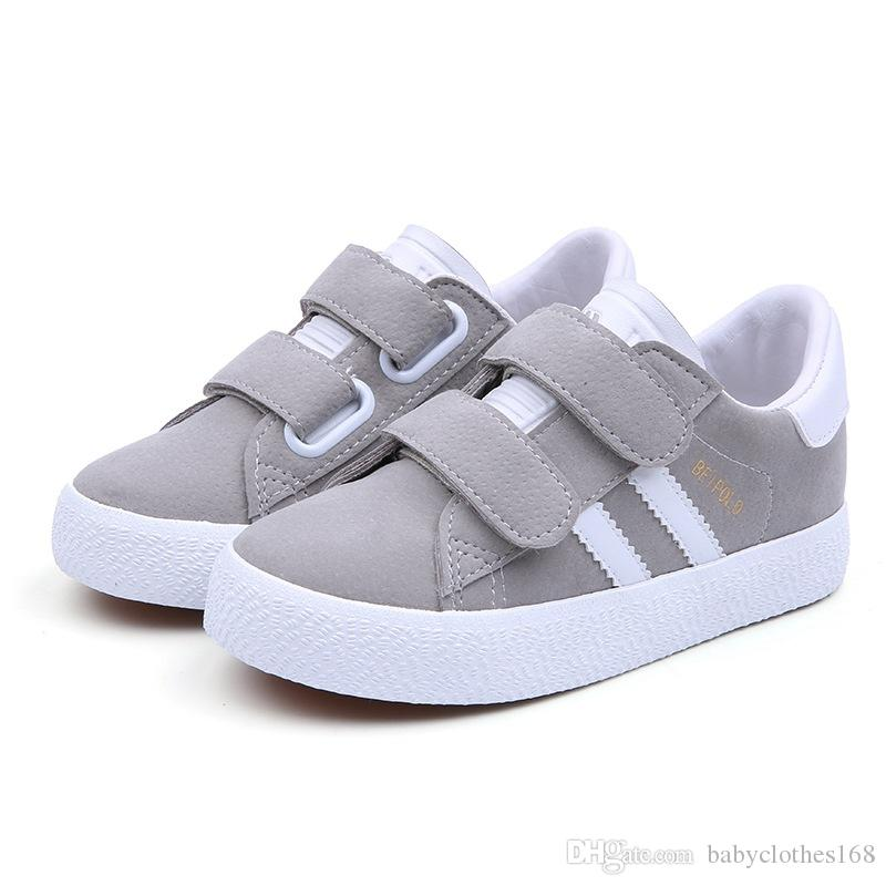 353ea2efcba Children Boy Casual Shoes Fashion Designer Girls Sneaker Spring Autumn  Black Kids School Shoes On Sale Toddler Gym Shoes Kids Runners Online From  ...